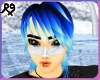 Raver Blue Male Hair