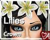 .a Lilies Hair Crown