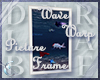 Wave Warp Picture Frame