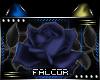 Z|Blue Rose Sticker-