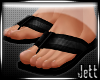 Jett - Blk Beach Sandals