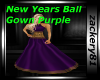 New Years Gown Purple