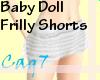 (Cag7)BabyDollShorts W