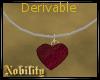 Der. Heart Necklace