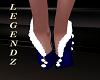 Holiday Boot Heels Blue