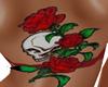 SS Skull & Roses tattoo