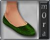 Philippa Green Slippers