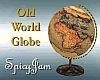 Antique Animated Globe