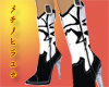 CA� Cowgirl Boots White