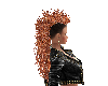 HAIR -Long Orange Mohawk