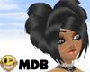 ~MDB~ BLACK HEART HAIR