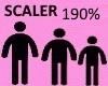 Scaler 190%