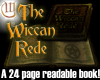 LBK: The Wiccan Rede