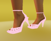 pink heel shoes