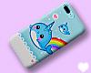 ❥ Cute Whale! Iphone7