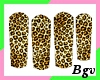 Hot Leoapard Nails