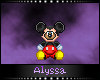 Mickey Bear Badge