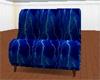 ♛ Blue Lightning Sofa