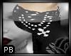 BM Black Chain Pants