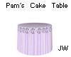 JW Pams Cake Table