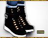 ! Leather Sneaker Black