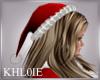 K Mrs Santa hat