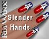 Wx:Slendr Patriotic Nail
