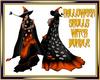 Halloween Skulls Witch