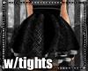 Woolen puff skirt V2