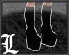 *Dy} Plain Blk Boots.8.1