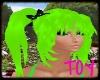 Green Moon Cheese Hair