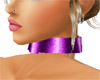 choker purple metal