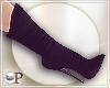 Fancy Black Boots