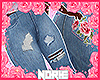 NOR: Roses rip jeans