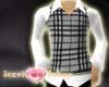 Checkers Vest Black