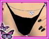 (Ð) Black Bikini Bottom