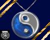 }T{YinYang Necklace saph