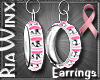 BCA.Silver.Pink Hoops