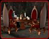 !   CASTLE TEA TABLE