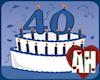 [AH] 40 Birthday Blue