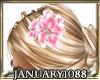flower for fuller hair