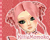DOLL Candy Pink CURLY DOLL
