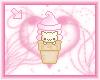 animated cat in icecream