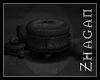 [Z] DH reading stool 2P