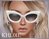 K white sunglasses