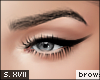 s. brows KD | black