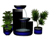 Black/Blue WaterFountain