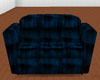 MD - Blue Club Couch
