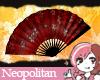 Red Singular Fan