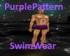 [BD]PurplePatternSwimWea
